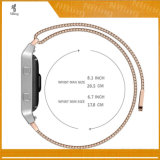 Il rimontaggio astuto dei cinturini del ciclo milanese dell'acciaio inossidabile lega le fasce di manopola misura per la fiammata di Fitbit
