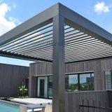 AluminiumPergola mit mit Luftschlitzendachwasserdichtem Sun-Farbton
