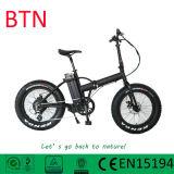 脂肪質のバイクを折る自転車に乗る20インチの小型電気バイクEbike