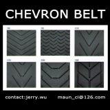 Chevron 컨베이어 벨트 C5/C10/C15 클리트 내화성 높은 24MPa 400% 신장 프레임