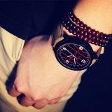 323 Yazole wasserdichte Form-Sport-Uhr-grosse Kasten-Armbanduhr für Männer