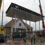 Здание бензоколонки низкой стоимости стальное с хозяйственным материалом