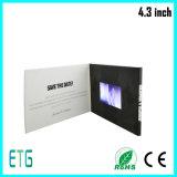 El mejor folleto video de TFT LCD / la tarjeta video / el folleto video del LCD para la publicidad