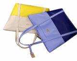 Bewegliche blaue Form PU-Handtaschen