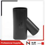 Type en Plastique Té de L'ajustage de Précision de Pipe de HDPE D'évacuation de PE Y de Partie Latérale