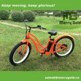 Fetter Gummireifen-Strand Crusiser elektrisches Fahrrad für Damen