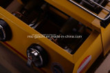 Grade comercial amarela do BBQ do gás de 2 queimadores para a venda por atacado
