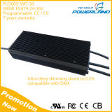 excitador de escurecimento ultra profundo programável do diodo emissor de luz do CV de 600W 24-58.8V centímetro cúbico para luzes espertas