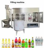 Завершите производственную линию упаковки машины разливая по бутылкам завода воды полностью готовый автоматической жидкостной бутылки любимчика заполняя