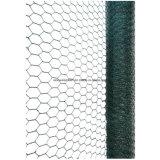 おりのためのPVCによって塗られる六角形ワイヤー網または金網の網