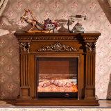 無作法な木の屋内暖炉のマントルピース(GSP15-004)
