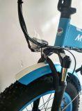 Pliage électrique caché de gros vélo de batterie 20 pouces