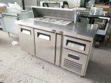 Réfrigérateur de Tableau d'établi de préparation pour Resteraurant (projet)