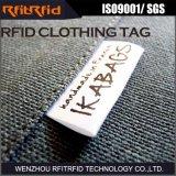 Ярлык одежды UHF Programmable RFID