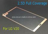 протектор экрана Tempered стекла Шелк-Печатание полного охвата 2.5D для LG V20