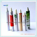 Embalagem farmacêutica Unidade de creme de creme médico Tubo de alumínio dobrável vazio