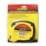 los ABS de los 30m ayunan cinta métrica de acero larga el rebobinar con la lámina marcada doble