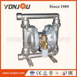 Bomba de diafragma dobro pneumática no material do aço inoxidável (QBY)
