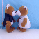 Mini brinquedo enchido encantador do luxuoso do urso