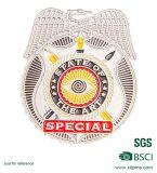 SGS BSCI het Gouden Militaire Kenteken van het Metaal met de Militaire Speld van de Revers van het Ontwerp
