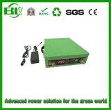 옥외 휴대용 온라인 12V 80ah 산출 Li 이온 건전지 UPS LED 빛을%s 가진 백업 장시간 비상 전원 공급 AC/DC 충전기