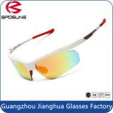 Deportes al aire libre Eyewear Revo del marco azul ligero Anti-Azul de la lente Tr90 de UV400