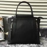 Bolsos con estilo Emg4593 de las señoras del cuero genuino del bolso del hombro del compartimiento de la calidad