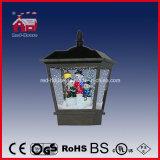 Indicatore luminoso di via nero del LED per la decorazione di natale con la famiglia dei pupazzi di neve