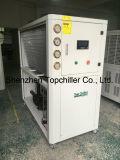 охладитель 5ton охлаженный воздухом с вертикальной водяной помпой, компрессором Danfoss для индустрии водоочистки