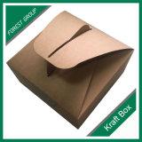 Het met een laag bedekte Vakje van het Voedsel van de Levering van de Motorfiets van de Cake van de Voering van het Document van Kraftpapier Verpakkende