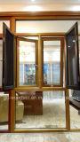 Legno caldo del venditore di Woodwin e finestra composita di alluminio con doppio vetro