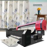 날실 직접 인쇄하는 직물을%s Epson Dx7 Printheads 1.8m/3.2m 인쇄 폭 1440dpi*1440dpi 해결책을%s 가진 뜨개질을 하는 직물 인쇄공