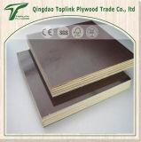 prix concrets de conteneur de contre-plaqué de construction de 21mm Brown