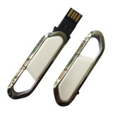 Silver USB3.0 Key Ring Flash Drive