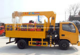 판매를 위한 XCMG 기중기로 거치되는 Dongfeng 3tons 화물 자동차 트럭