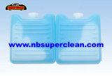 Reutilizable de plástico Gel hielo ladrillo Congelador Pack para mantener frescos de fruta