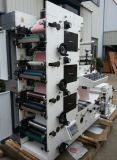 회전하는을%s 가진 기계를 인쇄하는 Flexo 레이블은 절단을 정지한다