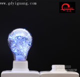 Bulbo colorido estrelado azul do diodo emissor de luz do fio de cobre G125 G95 G80 dos bulbos do diodo emissor de luz