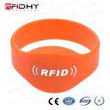 MIFARE mais o Wristband do silicone de S 1k RFID NFC