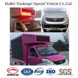 Camion de publicité mobile d'Afficheur LED de camion spécial d'Euro4 Foton