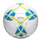Balón de fútbol de cuero hecho a mano de la PU hecho en Paquistán