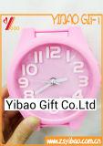 Despertador bonito do PVC da alta qualidade feita sob encomenda do logotipo (YB-HD-75)