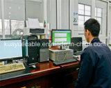 Cable del audio del conector de cable de la comunicación de cable de datos del cable de Hyv Cat3/Computer del cable de teléfono