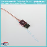 USB 비용을 부과 케이블에 나일론 땋는 번개