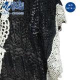 Платье повелительниц способа перспективы черного Bowknot V-Neckline Выдалбливая-вне сексуальное