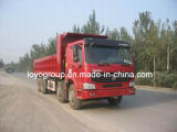 HOWOディーゼル8X4 30m3の12車輪のダンプトラック