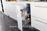 Island Style MFC Lacquer Paint Kitchen Cabinet
