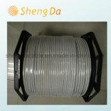 Noir avec la Ligne Verte câble coaxial de liaison de Tri-Écran protecteur de Shengda Company