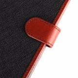 Leather+PU Kippen-Telefon umkleidet Mappe iPhone 6 Deckel