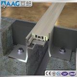 Perfil de aluminio/de aluminio de la barra del divisor de la protuberancia